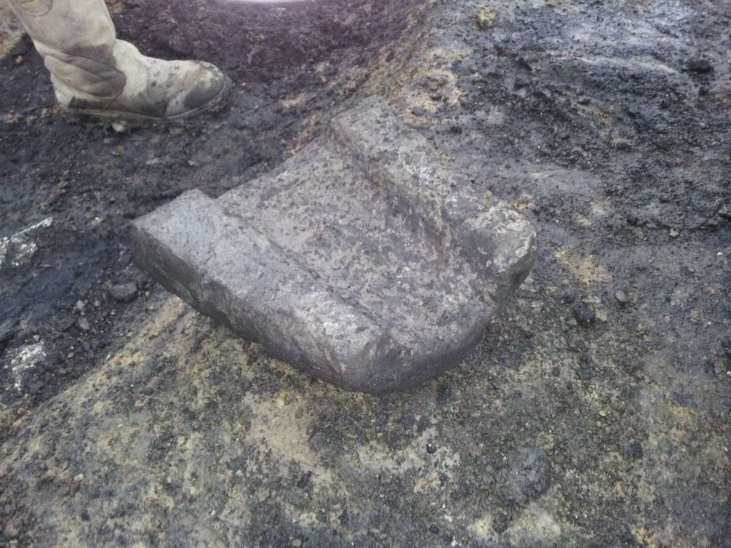 The Caherduggan Castle Gutter Stone