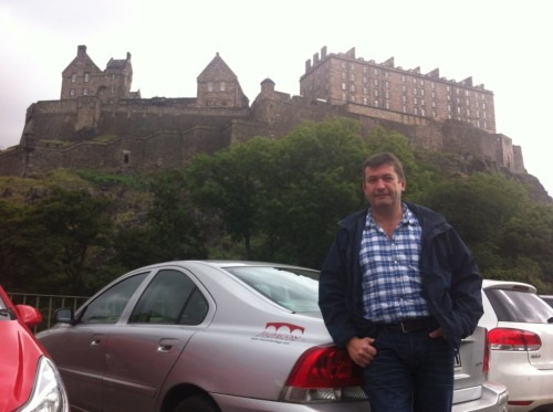Rubicon's Colm Moloney, who is heading up our Edinburgh Office