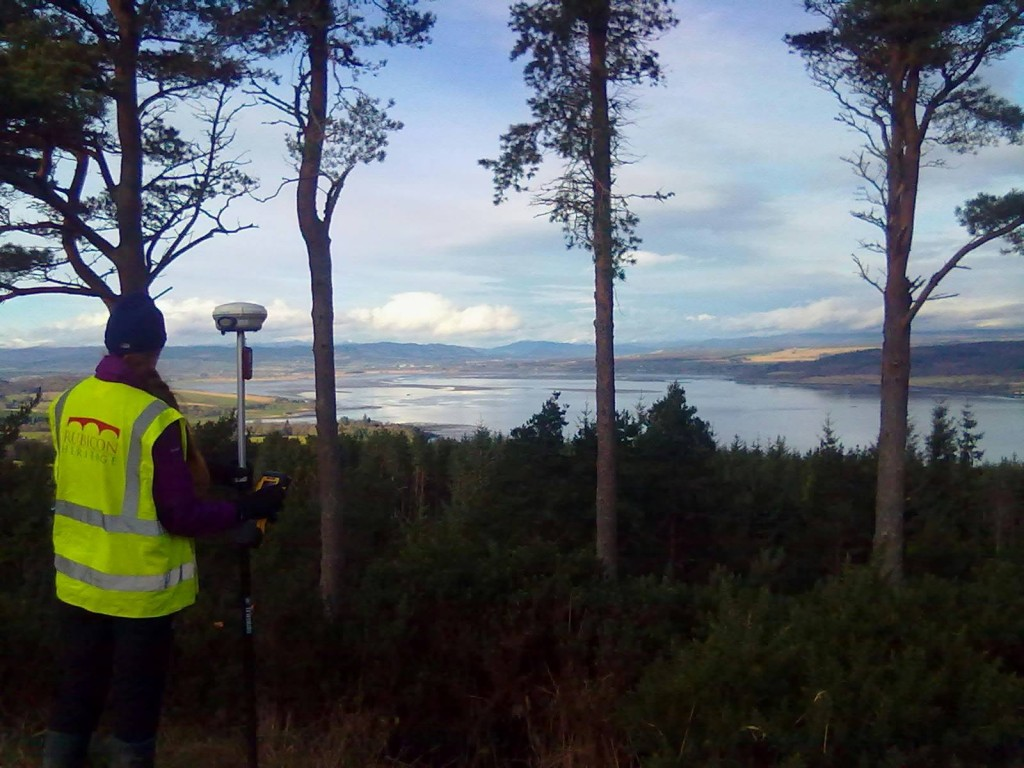A topographical survey of Craig Phadraig vitrified hillfort overlooking the Beauly Firth, Inverness-shire