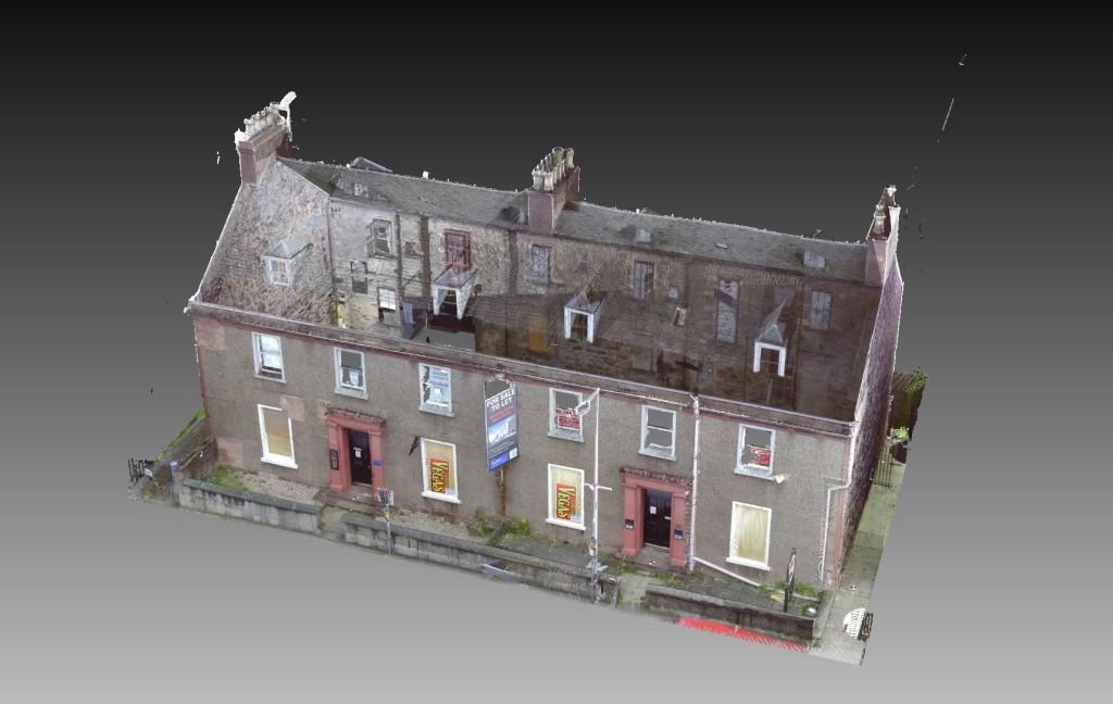 Image of 3D laser scan model undertaken by CainTech (CainTech)