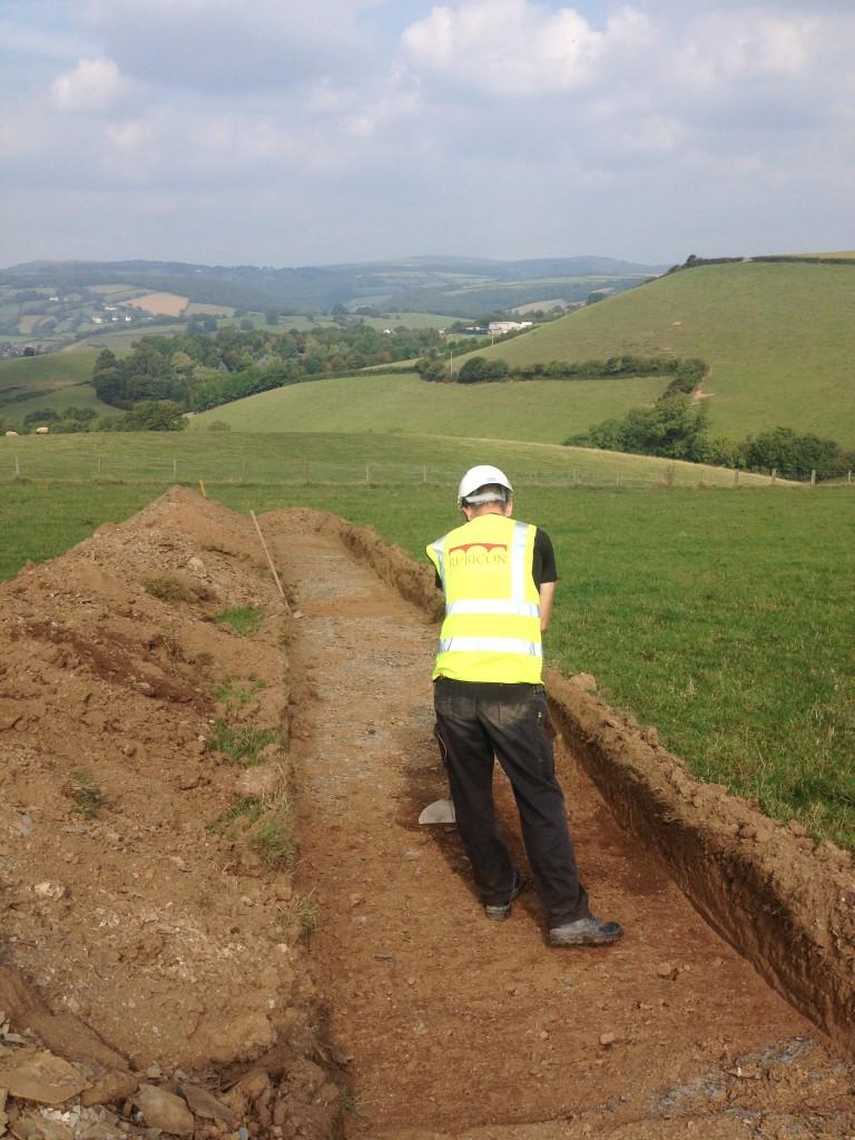 Evaluation underway in Devon (Rubicon Heritage)