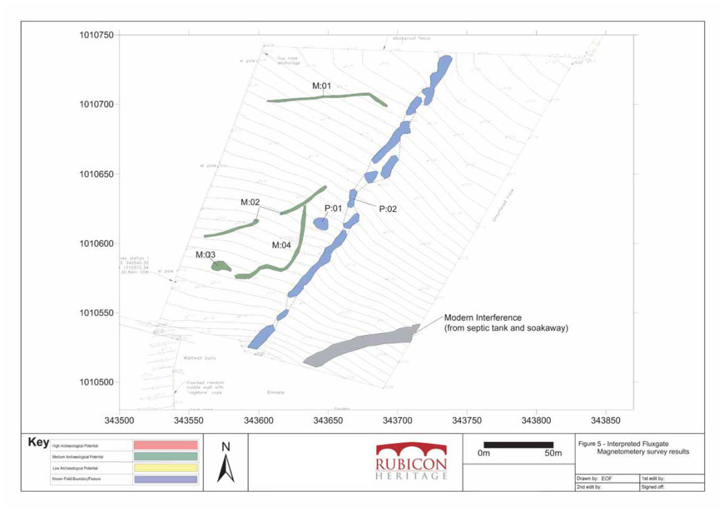Interpretation of the Orkney Geophysical Results (Rubicon Heritage)