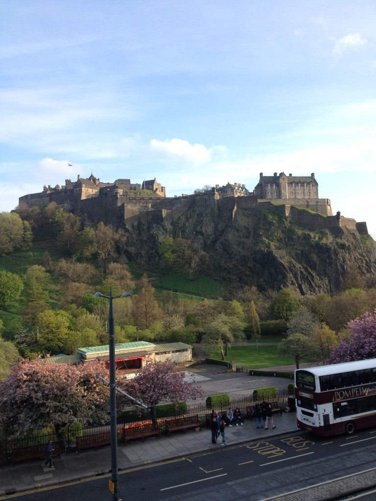 Edinburgh Castle, the setting for the Seminar