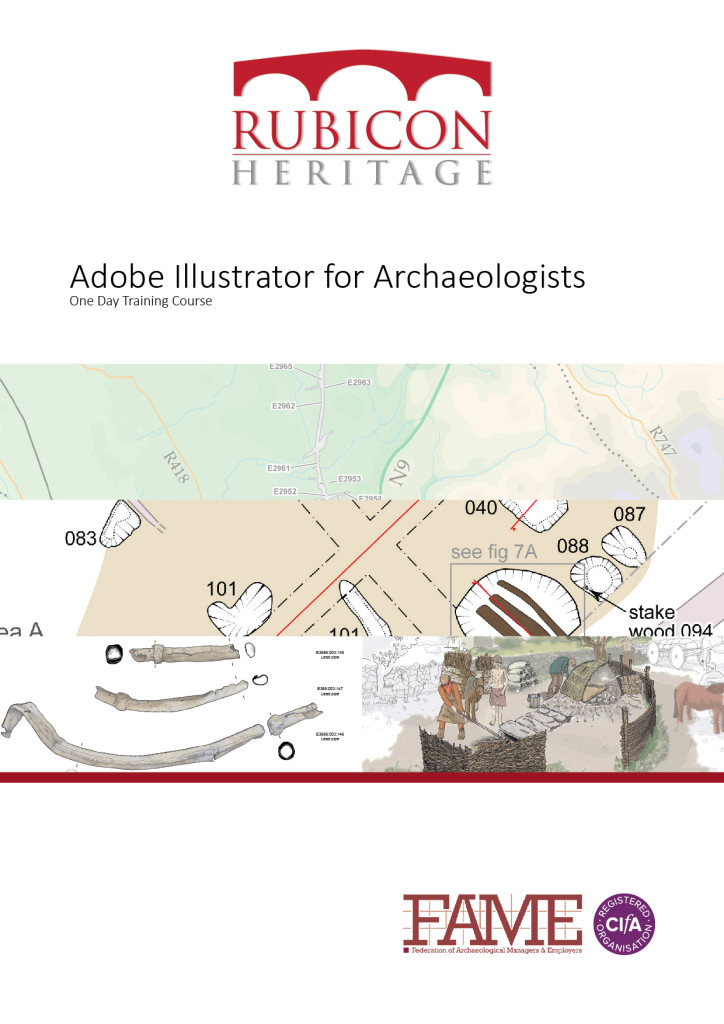 Adobe Illustrator for Archaeologists Manual Cover (Copyright Rubicon Heritage)