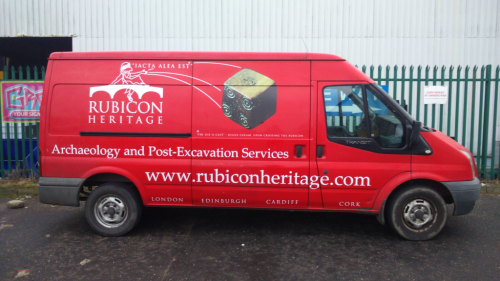 'Iacta Alea Est': The Die is Cast on Our New Van Livery