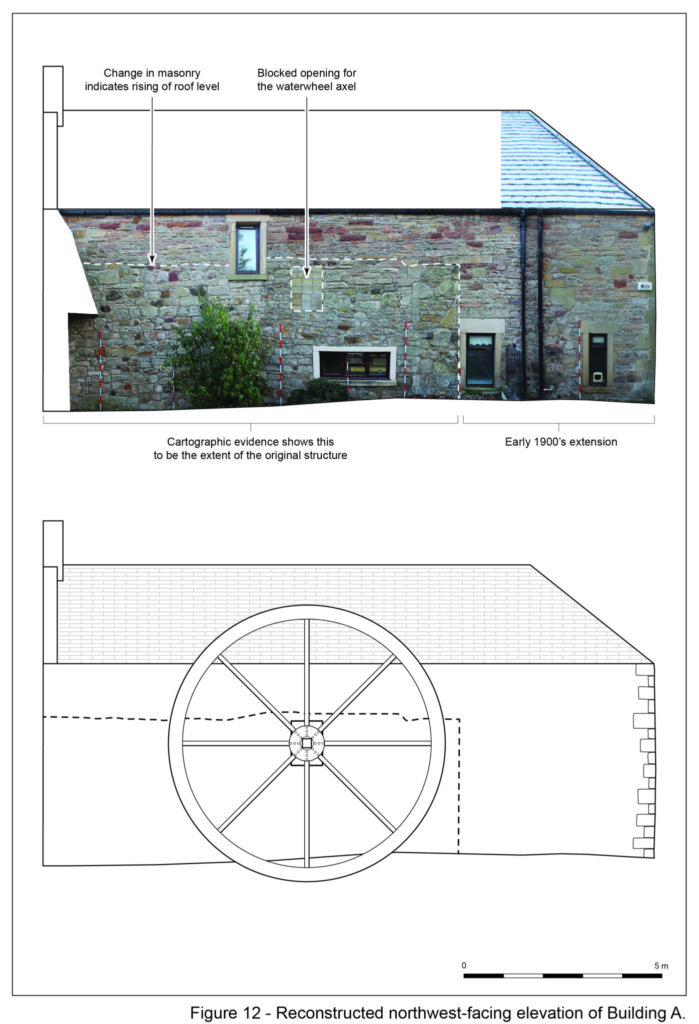 Rubicon's measured survey of the historical building at Currie (Rubicon Heritage)