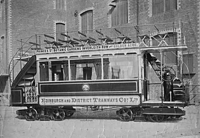 Archaeology and the historic trams of Edinburgh