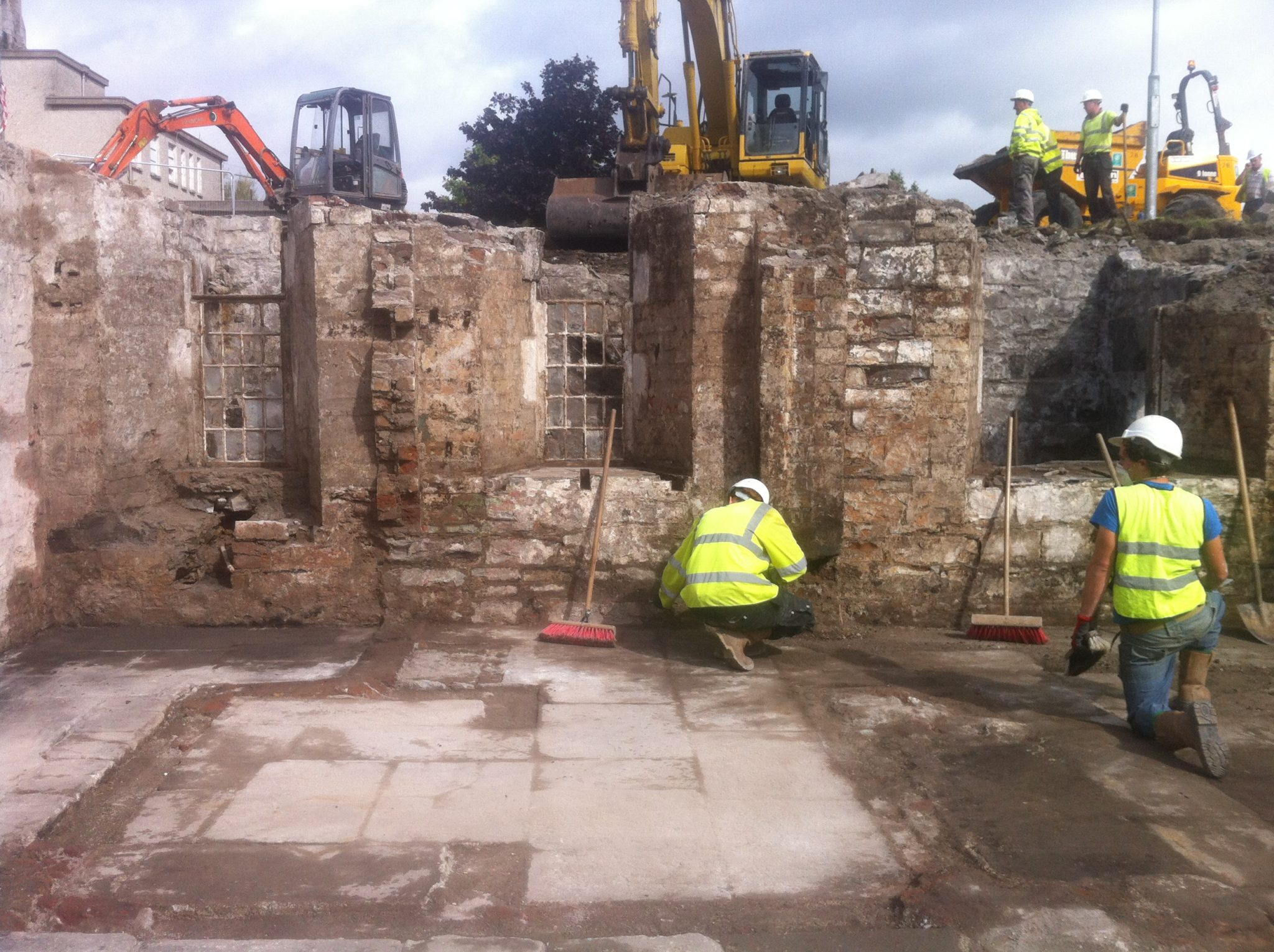 Sod-turning at DIT Grangegorman for new Central and East Quads